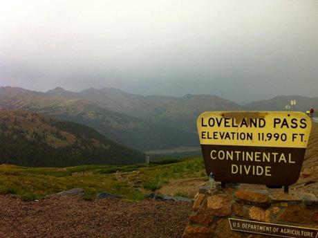Loveland Pass 2012 TBP
